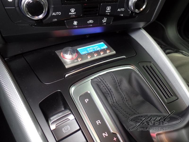 Kirkwood Client Upgrades 2015 Audi Q5 Audio System