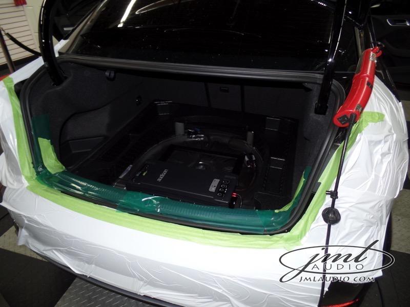 Ballwin Client Audi S3 Audio Upgrade Stage 1: Bass